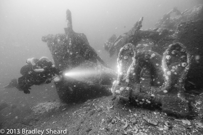 underwater photography wreck diving shipwrecks brad sheard